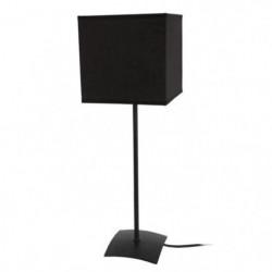 ALFENA CARRÉ Lampe a poser acier 15x15x46 cm - Noir