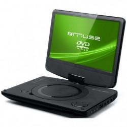 """MUSE M970DP Lecteur DVD portable - Écran 9"""" pivotant à 180°"""