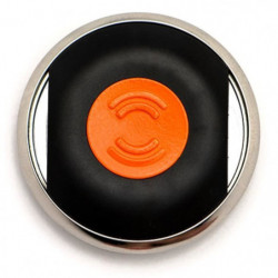 BIISAFE Buddy Traqueur GPS - Noir/Orange