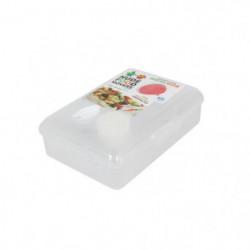 Lunchbox 15,5x21x7,2 cm - Blanc - Plastique