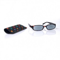 Lunettes loupe x2.5 grossissantes VITAEASY monture pois coul