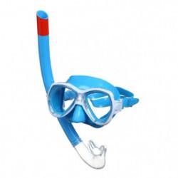 SEAC Masque et Tuba de plongée Ischia Siltra- Medium - Bleu