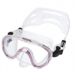 SEAC Masque de plongée Marina - Enfant - Rose