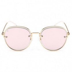 PRIVE REVAUX - Lunettes Aviators - Modele The Escobar Rose M