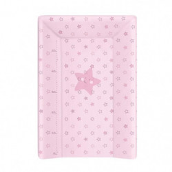 BABYCALIN Matelas a Langer Luxe 50 x 70 cm Etoile Rose Toise