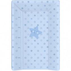 BABYCALIN Matelas a Langer Luxe 50 x 70 cm Etoile Bleu Ciel