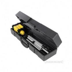 SILVERLINE  Coffret niveau laser rotatif  Précision 0,5 mm