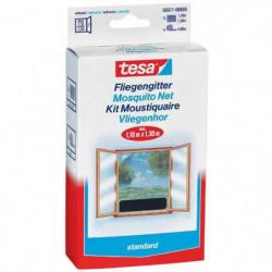 TESA Moustiquaire Standard pour fenetres - 1,10 m x 1,3 m