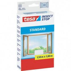 TESA Moustiquaire Standard pour fenetres - 1,5 m x 1,8 m - B