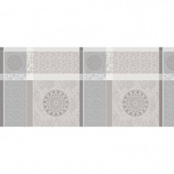 CORYL Nappe MATISSE ovale - 160x240 cm - Gris