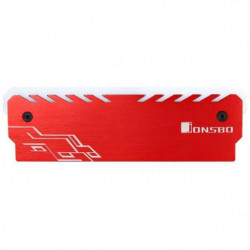 JONSBO Dissipateur Mémoire RAM NC-1 RGB Rouge