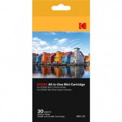 KODAK KODMC30 Pack de 30 feuilles compatible Mini Shot et im