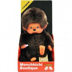 Bandai- MONCHHICHI - 20 cm l'original