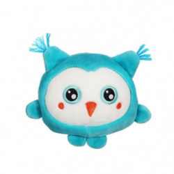 "GIPSY TOYS Squishimals 10 cm chouette bleue ""Hooty"""