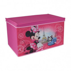 Fun House Disney Minnie paris coffre a jouets pliable pour e