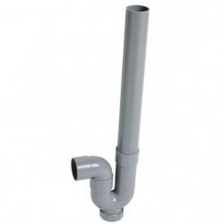 WIRQUIN Siphon simple crosse SP5001 - PVC - Machine à laver