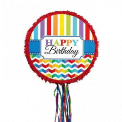AMSCAN Pinata a Fils - Happy Birthday