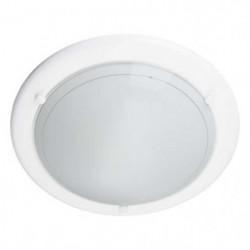 MIRAMAR-Applique ou Plafonnier Ø31cm blanc satiné Brilliant