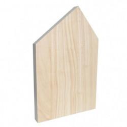 ECO DESIGN A1252 Planche a découper House - 40 x 25 cm - Nat