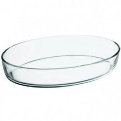 FINLANDEK Plat ovale en verre - 33x22 cm