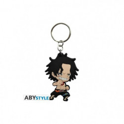 Porte-clés One Piece - Ace SD - ABYstyle
