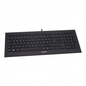 CHERRY Clavier Strait - Filaire - USB - Qwerty
