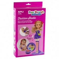 APLI Boite poupée a habiller en pâte Fun Dough - Blonde