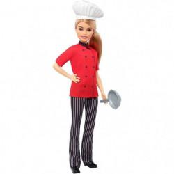 BARBIE - Barbie Chef Cuisiniere - Poupée Mannequin - Theme M