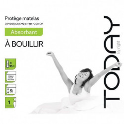 TODAY Protege Matelas / Alese Absorbant a Bouillir 90x190/20