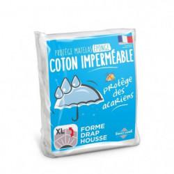 SWEETHOME Protege-matelas éponge 100% coton - Imperméable -