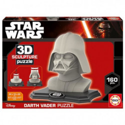 EDUCA Star Wars Puzzle 3D Dark Vador - Dark Side edition