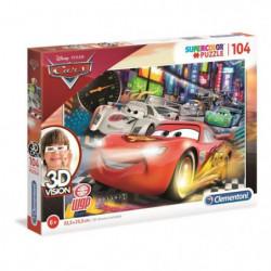 CARS 3 Puzzle Effet 3D 104 Pieces