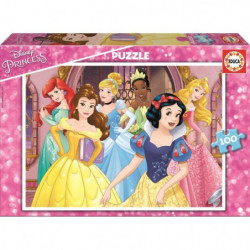 DISNEY PRINCESSES Puzzle 100 Pieces