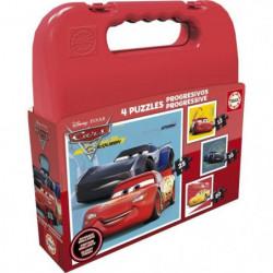 CARS Malette Puzzles Progressifs Cars 3