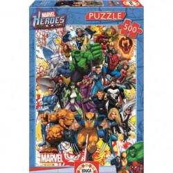 DISNEY MARVEL Puzzle 500 Pieces - Les Héros De Marvel