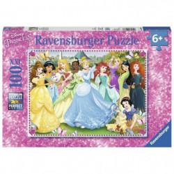 DISNEY ?RINCESSES Puzzle Princesses Magiques