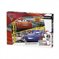 CARS Puzzle 45 pcs La transformation de Flash McQueen - Disn