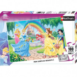 DISNEY PRINCESSES Puzzle Le Jardin Des Princesses 100 pcs