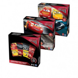CARS 3 - Pack Puzzles + Jeux Spinmaster