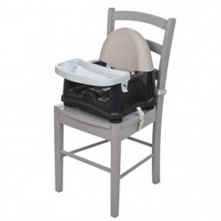 SAFETY 1ST Réhausseur De Chaise Easy Care Booster - Grey Pat