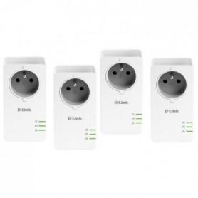 D-LINK Pack 4 Adaptateurs CPL -1000 Mbp/s
