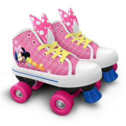 DISNEY MINNIE Patins à roulettes Quad - Taille 29