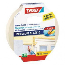 TESA Ruban de masquage Protection Classic - 50m x 19mm - San