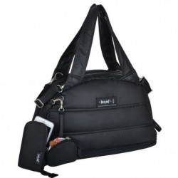 Baby on board - sac a langer - Doudoune Bag noir- sac 24h ou