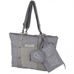 Baby on board -sac a langer - sac citizen stone chiné- forma