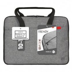 Mobilis Sacoche - Trendy Sleeve - 10-12.5'' - Gris