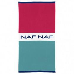 NAF NAF Drap de plage MOOREA - 100% Coton - Multicolore - 80