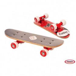 FUNBEE Mini Skate Erable 17'' Rouge