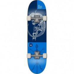 DEMENTED Skateboard Reptilian - Mixte - Bleu