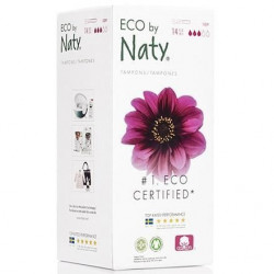 NATY Tampons avec applicateur Super - Lot de 14